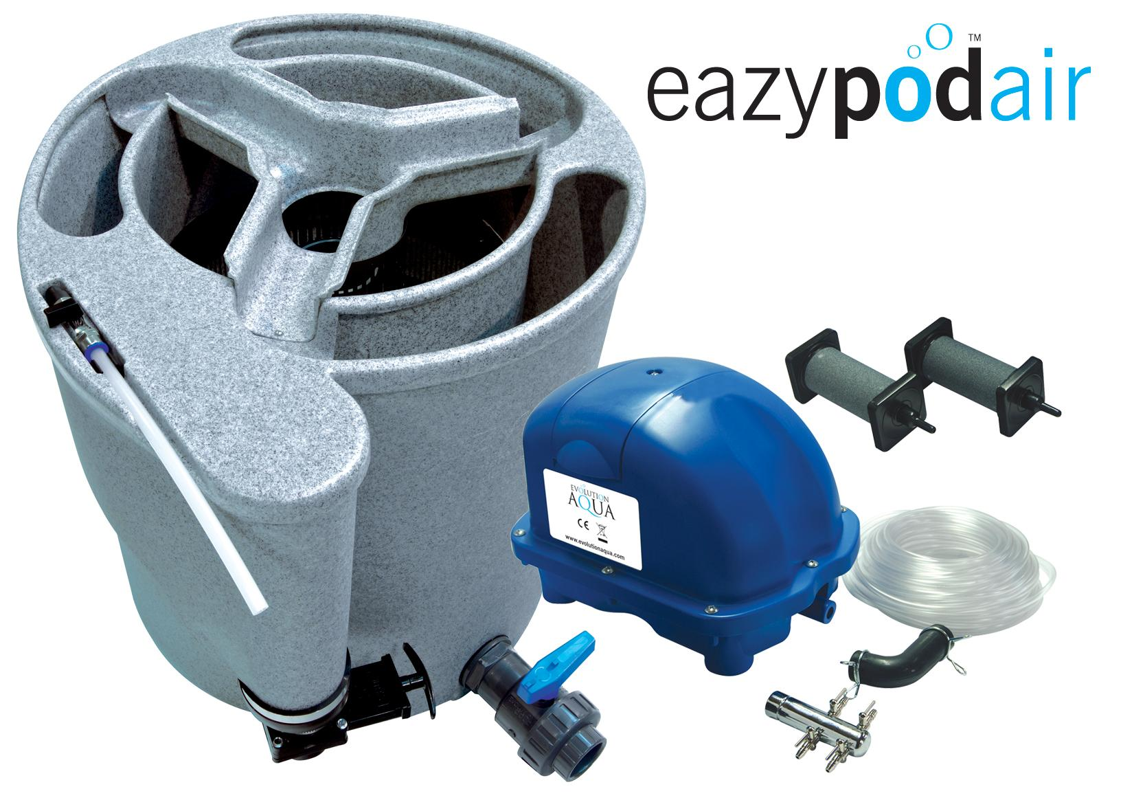 Evolution Aqua Eazy Pod Air Pond Filters Bjs Japanese Koi Carp Koi Foods Stockists Of
