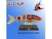 Koi Statues On Stand
